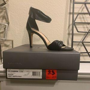 Black Open Toe Heel